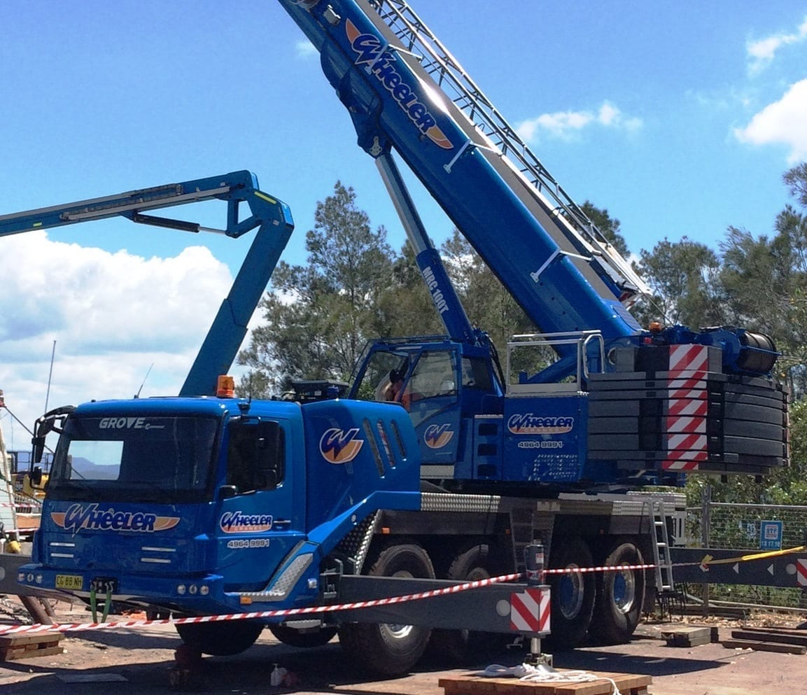 100 Tonne All Terrain Cranes