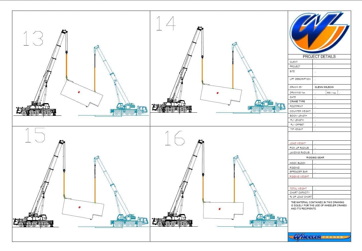 Overhead Crane Lifting Procedure : Services wheeler cranes