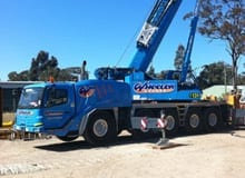 130 Tonne All Terrain Cranes